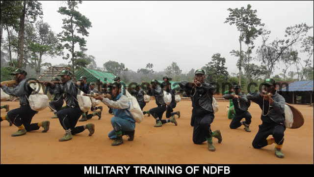 NDFB Army Training