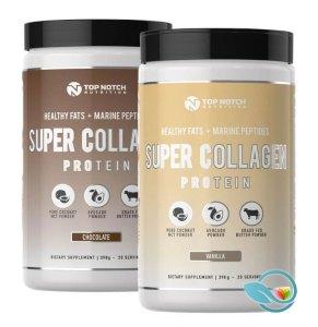 Top Notch Nutrition Keto Super Collagen Protein Shake