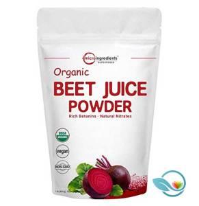 MicroIngredients Superfoods Organic Beet Juice Powder