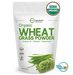 Microingredients Superfoods Organic Wheatgrass Powder
