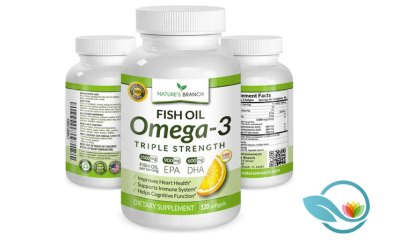 Nature's Branch Omega-3 Fish Oil