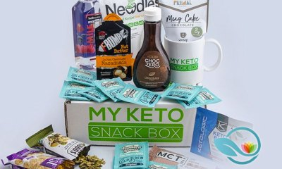 The Keto Box: Low Carb Ketogenic Diet Subscription Snack Boxes