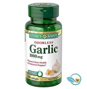 Nature's Bounty Odorless Garlic