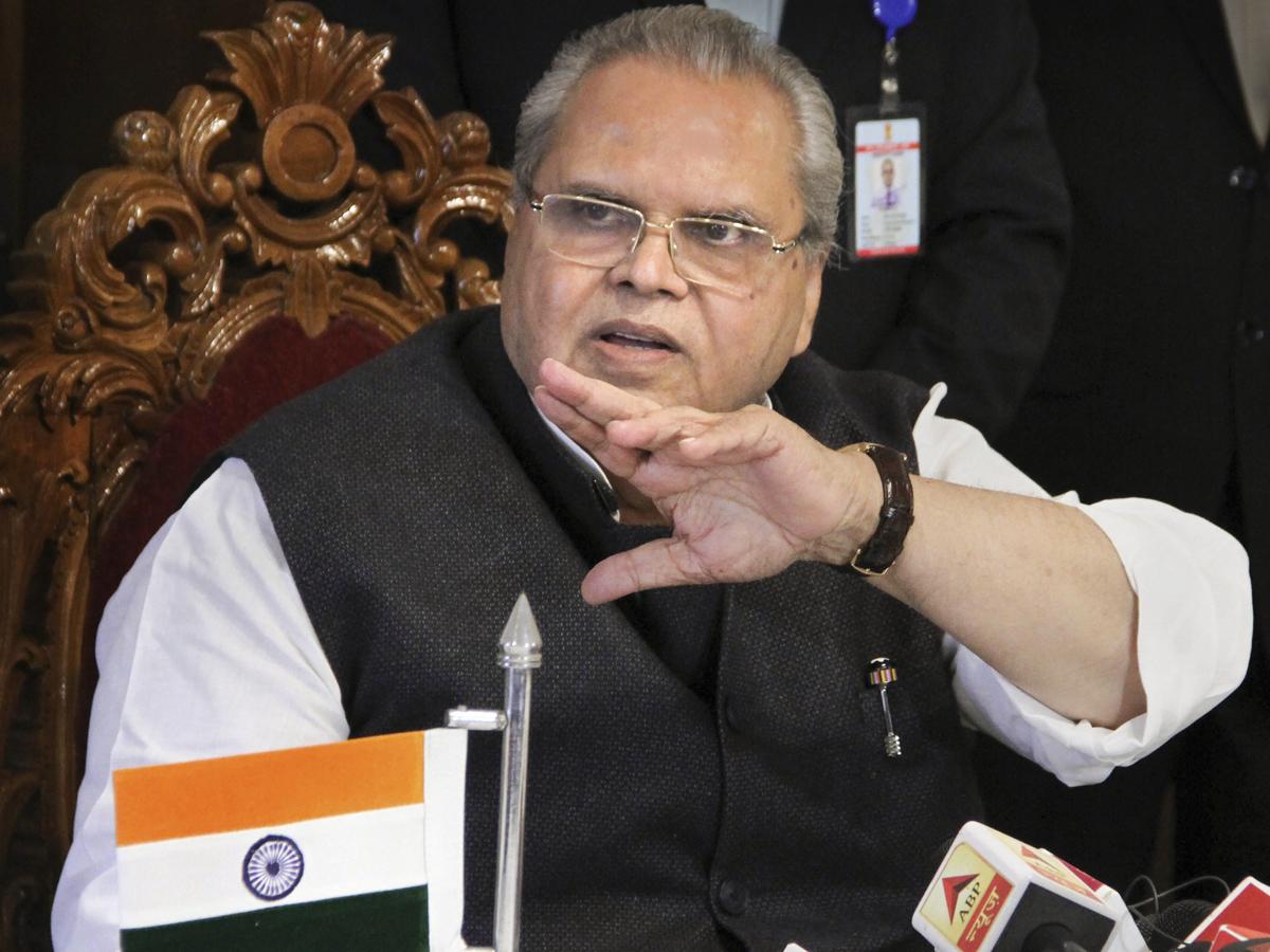Governor Satya Pal Malik Dissolves J Amp K Assembly Let There