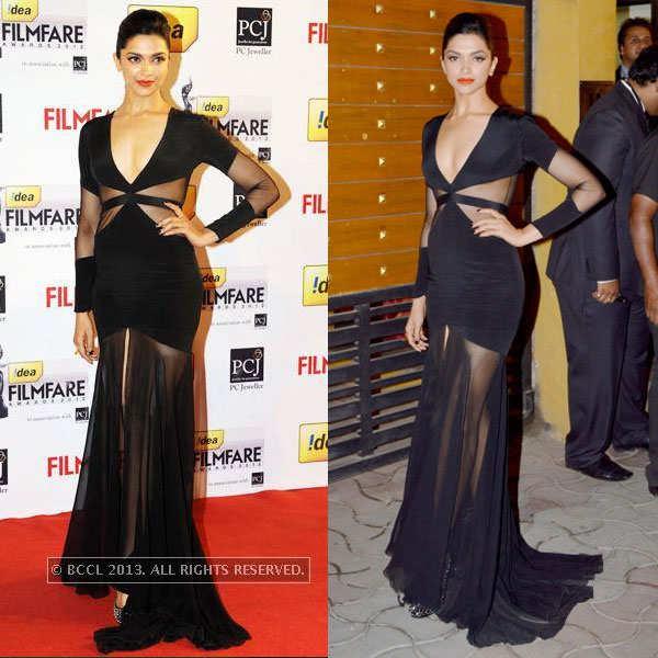 Deepika Padukone rocks a racy attire