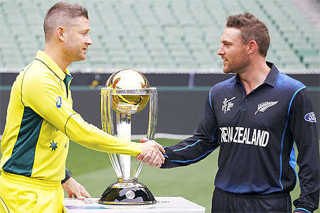 NZ 'fearless' ahead of final; Aus says skill, not emotion, wins World Cups