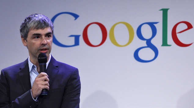 Larry Page, co-founder and CEO of Alphabet