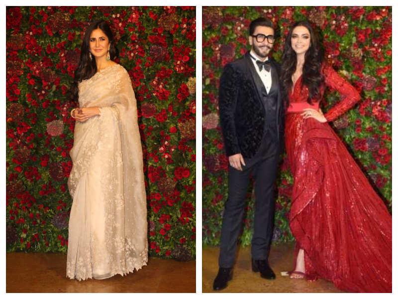 Katrina Kaif on Deepveer's wedding reception - Percy Buzz