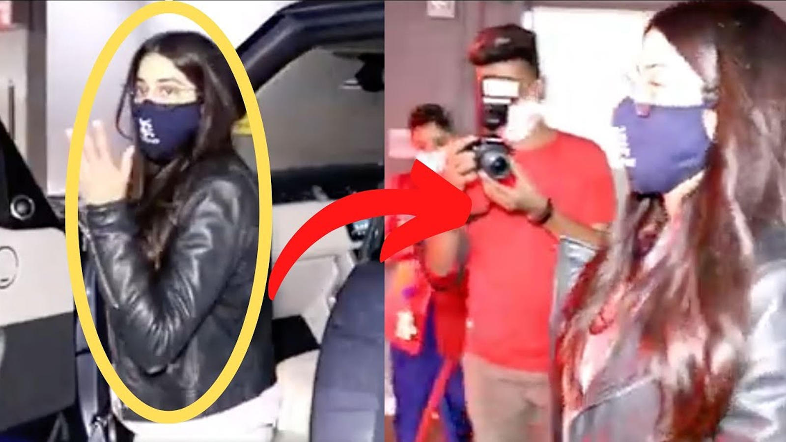 Janhvi Kapoor's perfect reaction when paps ask her to pose for pictures without mask; watch | Hindi Movie News – Bollywood – Times of India