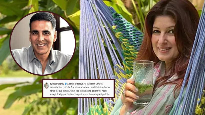 As Akshay Kumar recuperates from COVID-19, wifey Twinkle Khanna spends alone time in the garden writing poem | Hindi Movie News – Bollywood – Times of India