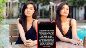 Divya Agarwal says, 'I worry about the women around you perverting' as she slammed trolls for opposing her |  TV
