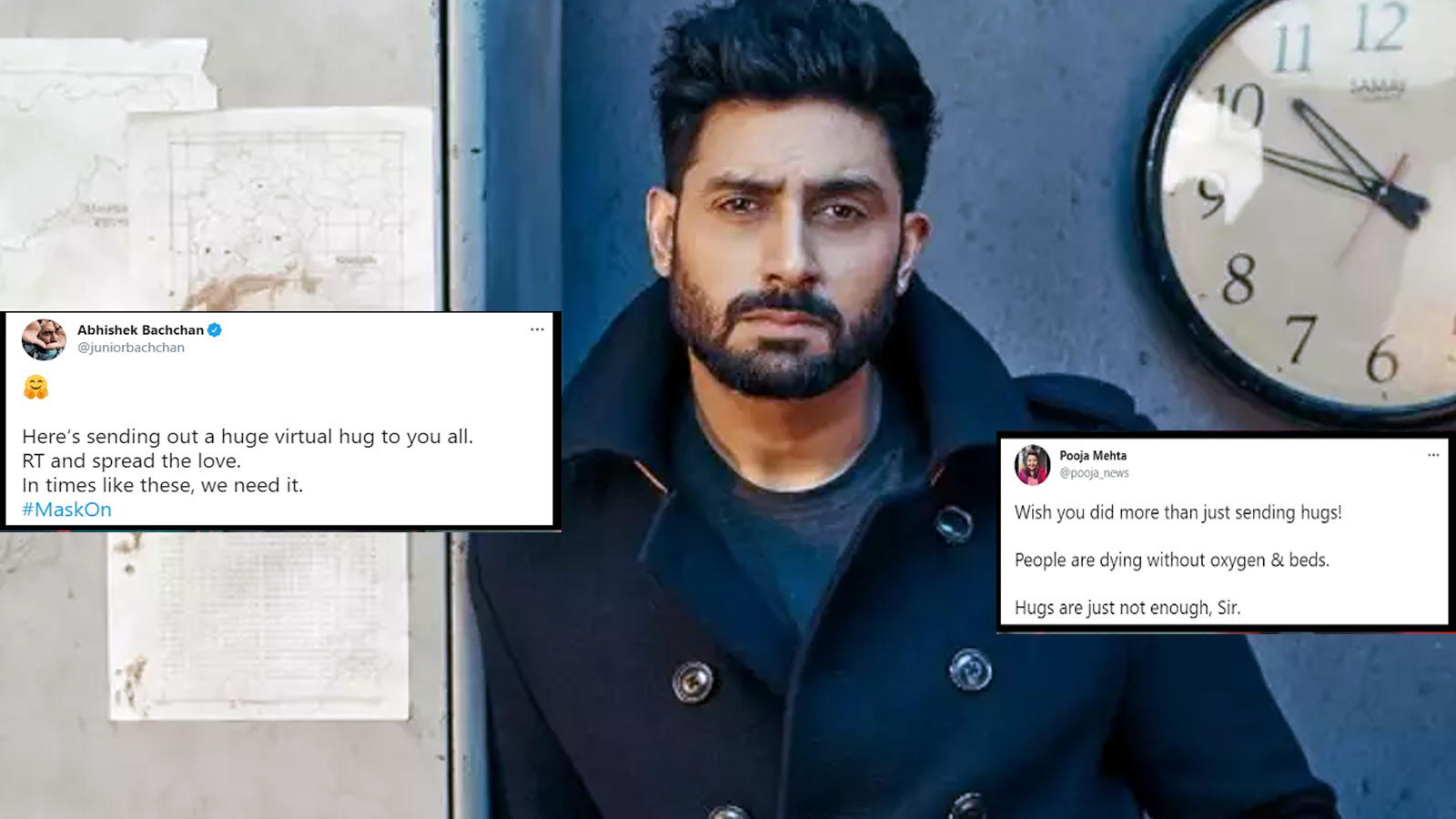 Abhishek Bachchan shuts troll criticising him for not doing enough to help public amid COVID-19 pandemic with a classy reply | Hindi Movie News – Bollywood – Times of India