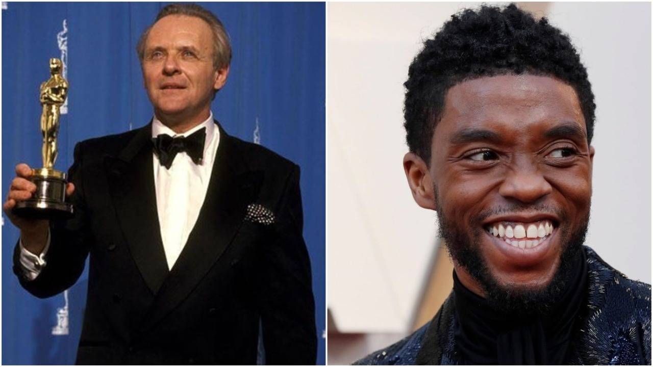 Anthony Hopkins pays tribute to late Chadwick Boseman after Oscar win   English Movie News – Hollywood – Times of India