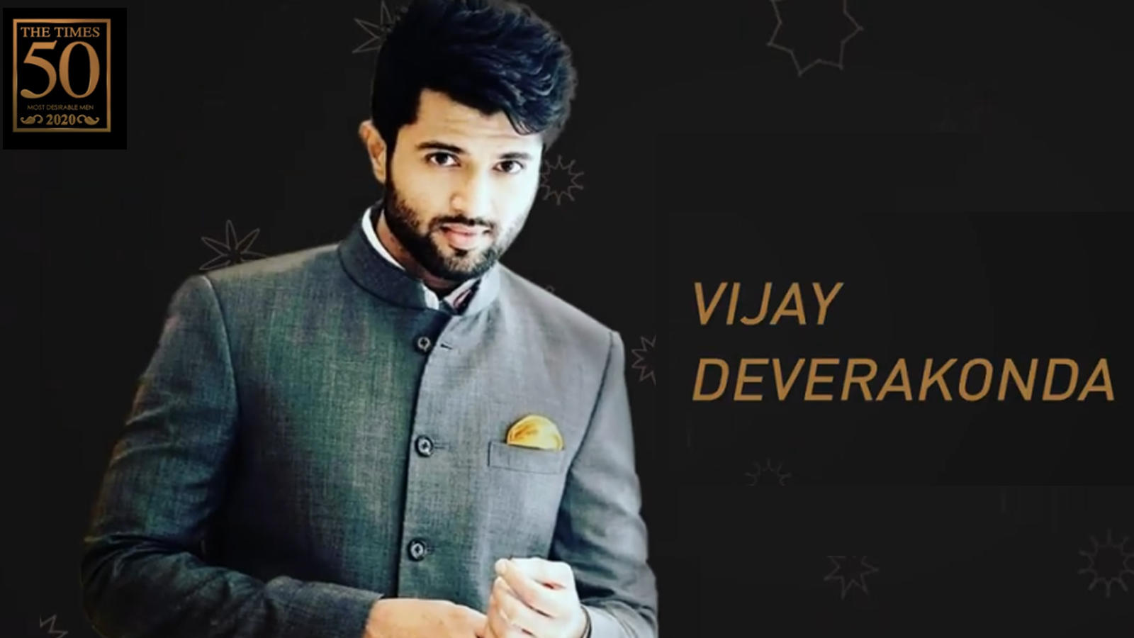 Vijay Deverakonda wins the top spot on the Hyderabad Times Most Desirable Men's list 2020   Hindi Movie News – Bollywood – Times of India