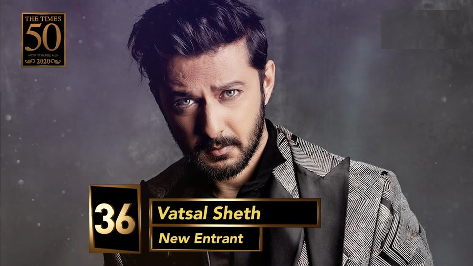 Vatsal Sheth gets the top spot on the Ahmedabad Times Most Desirable Men's list of 2020 | Hindi Movie News – Bollywood – Times of India