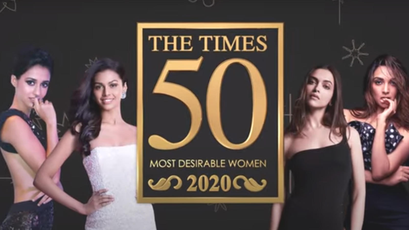 Times 50 Most Desirable Women 2020 | Catch all the stars who have bagged a rank in the list | Hindi Movie News – Bollywood – Times of India