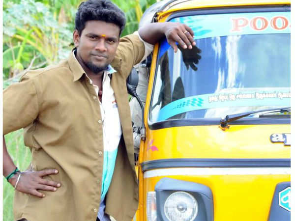 Imman invites an auto driver to sing a song in his film ...