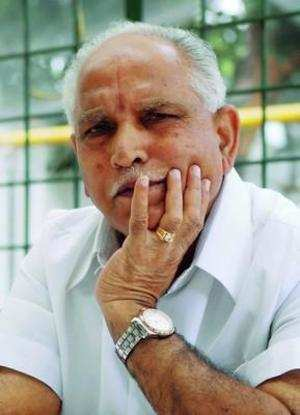 They're making a cheat out of me: Yeddyurappa