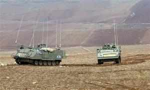 Israeli army scores 'direct hits' on Syrian target