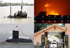 Hopes of miracle fade, 4 bodies pulled out of INS Sindhurakshak