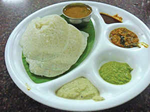 'Idli, sambhar most nutritious breakfast'