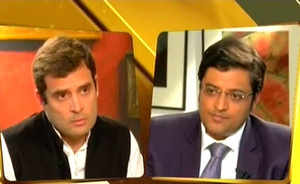 Rahul Gandhi's first interview: Full text