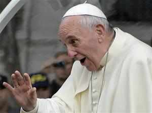 Pope Francis declares evolution and Big Bang theory are right and God isn't 'a magician with a magic wand'