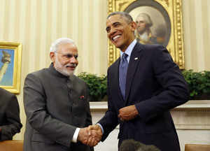 US President Obama meets PM Modi, calls him a 'man of action'