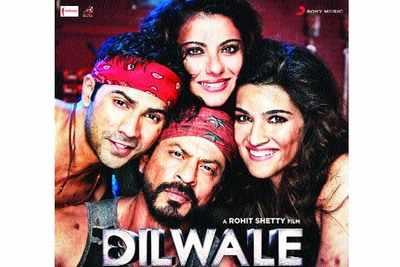 join 4 films dilwale