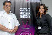 Subhash Ghai with his daughter Meghna Ghai Puri