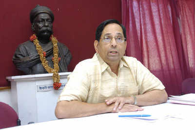 File photo of former Union home secretary Madhav Godbole.