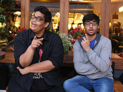 Image result for rohan joshi and tanmay bhat