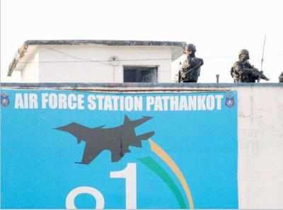 (File photo of Pathankot Air Force base)