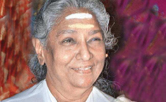 Singer S Janaki S Janaki Picks A Malayalam Lullaby For