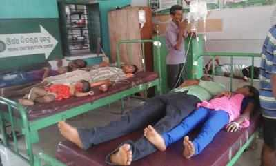 Dhenkanal chief district medical officer Bidyutlata Mishra said it was a case of food poisoning.