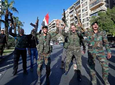 Image result for Syrians Gather in Capital in Defiance of Airstrikes