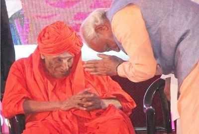 <p>Siddaganga Mutt seer Shivakumar Swamiji (File photo)<br></p>