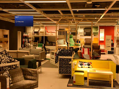 Ikea Hyderabad Store Ikea S First India Store Opens On