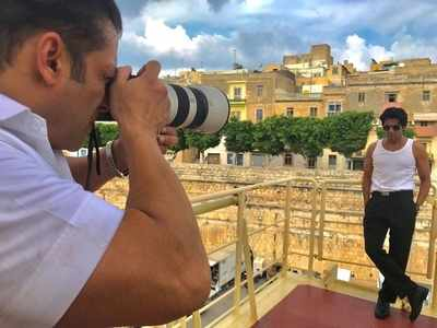 Photo: Salman Khan turns photographer in Malta and his muse will leave you in splits