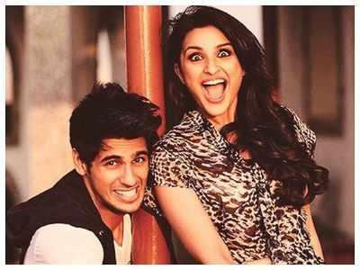 "Watch: Parineeti Chopra and Sidharth Malhotra indulge in some ""Jabariya chatting"" on the sets of 'Jabariya Jodi'"