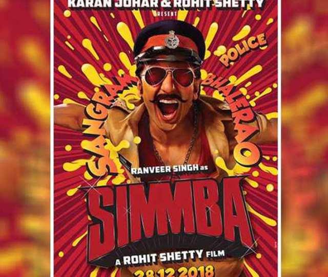 Simmba Trailer Ranveer Singh Sara Ali Khan Starrer Is A Surefire Masala