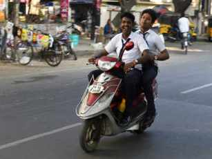 Image result for minor students in bike kerala