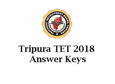 Tripura TET Answer Key: Tripura TET 2018 Answer Keys