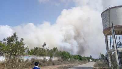 burning of garbage by