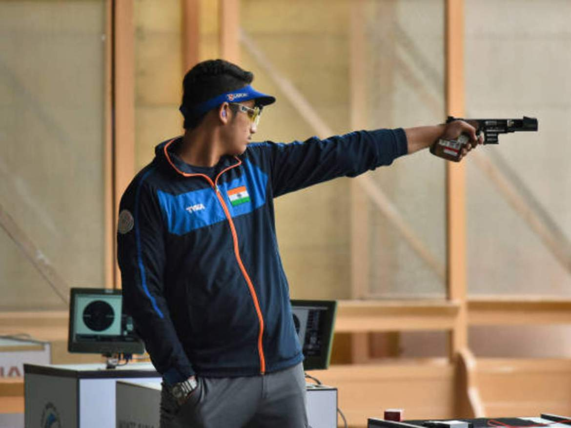 Adarsh Singh wins two gold medals in shooting meet | More sports News -  Times of India