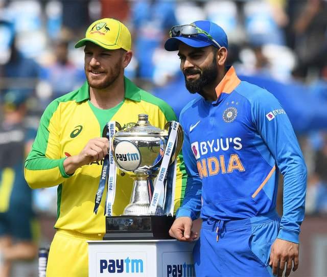 India Vs Australia Rd Odi  Series At Stake India And