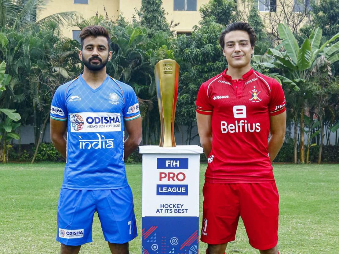 Hockey Pro League, India vs Belgium Highlights: India beat Belgium 2-1 -  The Times of India