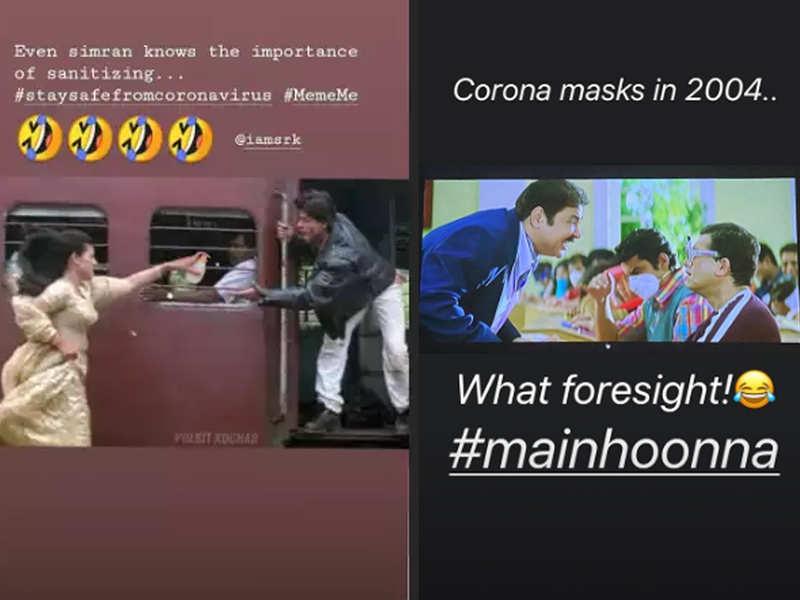 Coronavirus outbreak turns into a Bollywood meme-fest on social ...