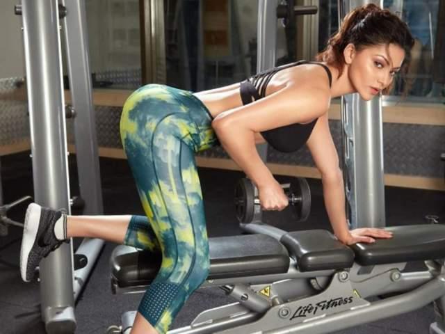 Urvashi Rautela shares a high-intensity exercise regimen for those ...