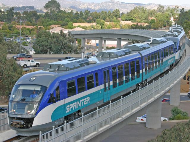 NCTD Sprinter train